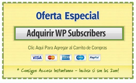 Comprar wp suscribers
