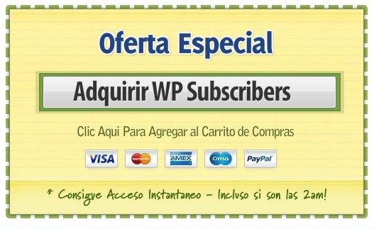 Comprar wp suscribers