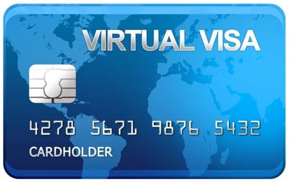 Virtual forex card